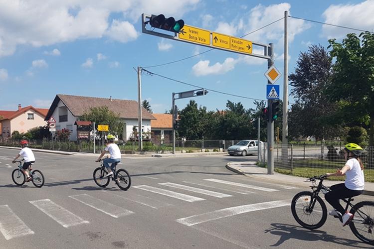 želim voziti bicikl raskrizje 2